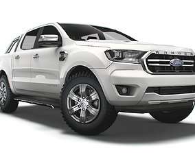 Ford Ranger DoubleCab Limited UKspec 2020 3D