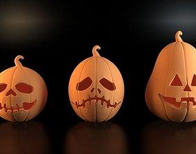 3dprint Pumpkins for Halloween 3D printable model