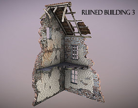 Ruined Building 3 3D model