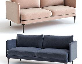 3D West Elm Auburn Sofa