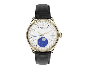 3D Rolex Cellini Moonphase Closed Strap