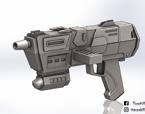 Star Wars republic commando DC-17m 3D printable model 2