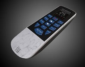 Air Conditioner Remote 3D asset
