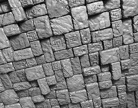 3 Tileable Stone Floor Tiles 3D