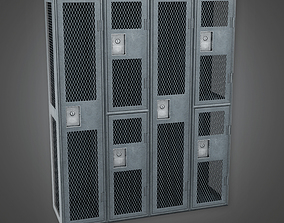 Military Locker 01 - MLT - PBR Game Ready 3D model