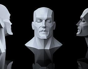3D print model Geometric head anatomy reference