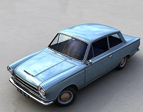 3D model FOR-D CONSUL CORTINA MK1 1962