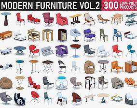 Modern Furniture Vol 2 3D asset