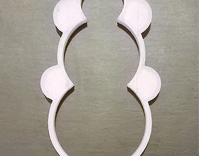 decoration Snowman Cookie Cutter 3D printable model
