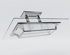 3D model Lustre Paris - Art Deco style