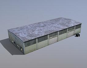 3D asset game-ready MilitaryBase PortoVelho Storage 01