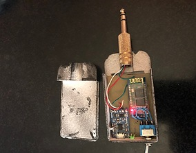 Bluetooth adapter 3D printable model