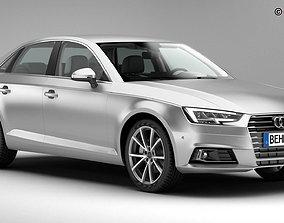 3D model Audi A4 Sedan 2016