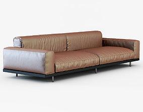 Sofa NAVIGLIO by Umberto Asnago 3D