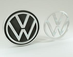 3D model Volks logo 2021
