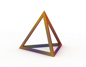 3D print model Tetrahedron