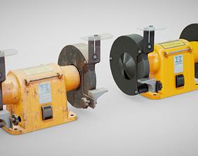 Bench Grinder - Hanning E6Z2-061 3D asset