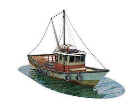 Fishing Vessel 3D asset