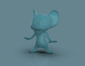 Jerry 3d model toy
