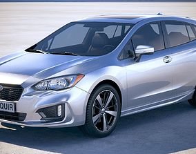 3D model Subaru Impreza Estate 2017