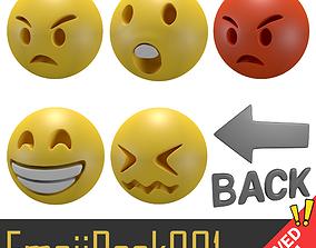 Emoji Pack 001 3D asset