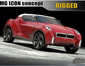 3D MG Icon concept