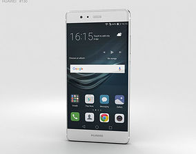 Huawei P9 Mystic Silver 3D