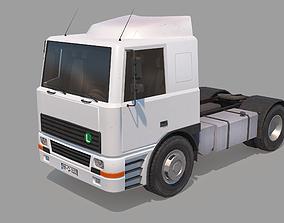 Semi Truck 3D model game-ready