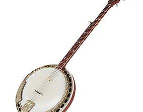 3D model Banjo Guitar