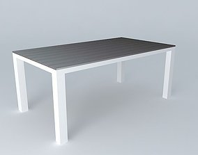 3D model Table 230 ESCALE houses the world