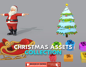 3D model Environment - Christmas Assets Collection