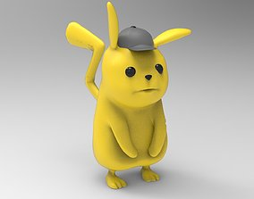 Pikachu character 3D print model