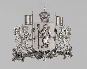 3D printable model The emblem of Sverdlovsk region