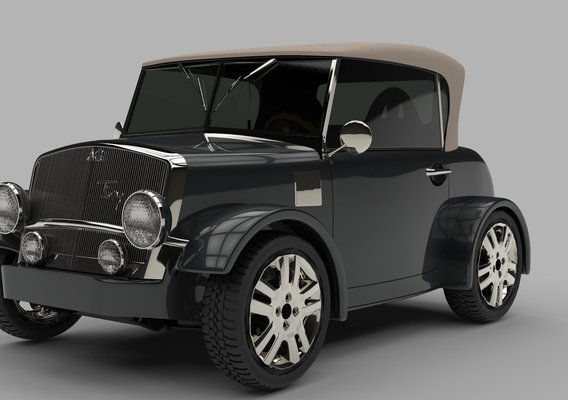 "Mini Electric Car Concept ""Tiny"""