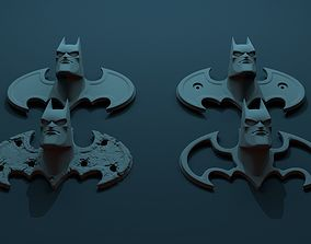 3D printable model BATMAN cartoon head on decorative 1