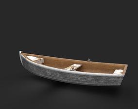 Rowboat 3D model