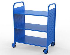 3D Generic Cart Library Transport 01