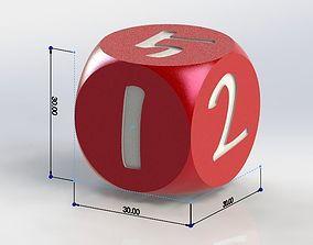 Basic dice 3D print model