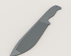 3D printable model Knife comb