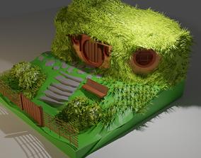 3D model Home Hobbit