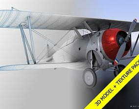 GRUMMAN F2F-1 with texture pack 3D rigged