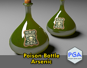 Poison bottle 3D model