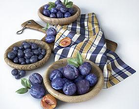 3D Fruit composition