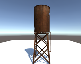 3D model Water Tank From Gta 5 with Texture