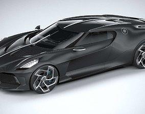 3D model Bugatti La Voiture Noire 2019 CoronaRender
