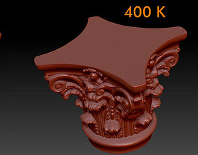 Corinthian capitel 3D model
