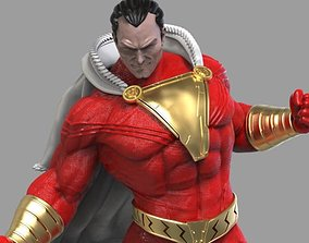 SHAZAM - 3D PRINTABLE FIGURE cyborg