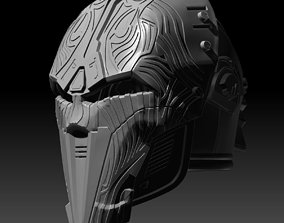 SWTOR Lord Adraas Sith Acolyte Helmet 3D printable model
