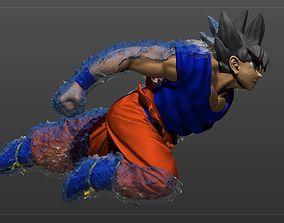 3D printable model Goku VS Jiren
