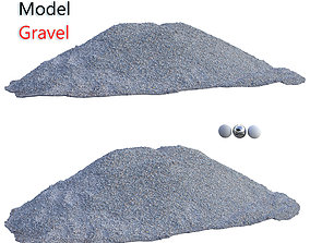 Ultra realistic Gravel Scan 3D asset